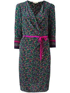 платье с запахом и цветочным принтом Vanessa Bruno