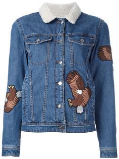 джинсовая куртка с аппликацией орла Each X Other
