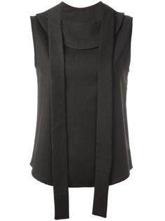 блузка без рукавов с лямками спереди Each X Other