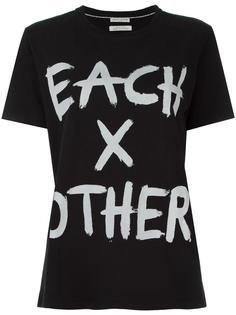 футболка с принтом-логотипом Each X Other