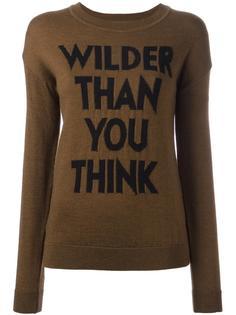 джемпер 'Wilder Than You Think'  Each X Other