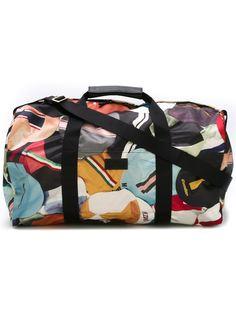 спортивная сумка с принтом кепок Paul Smith