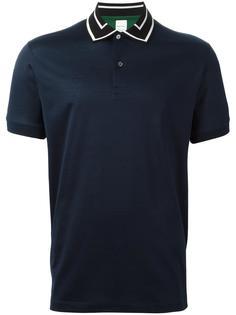 рубашка-поло с контрастной отделкой на воротнике Paul Smith