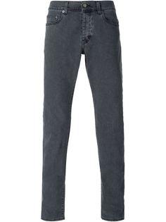джинсы с линялым эффектом Saint Laurent