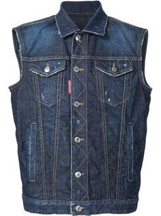 джинсовая жилетка Dsquared2
