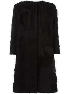 текстурированное пальто с рукавами три четверти By Walid