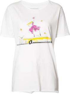 футболка с женщиной в машине Junk Food