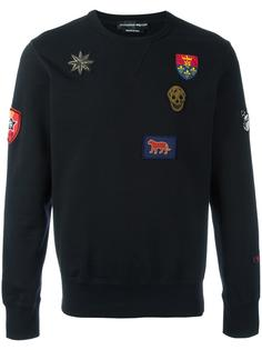 badge appliqué sweatshirt Alexander McQueen