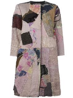 пальто с лоскутным дизайном By Walid