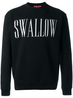 swallow print sweatshirt McQ Alexander McQueen
