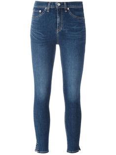 укороченные джинсы скинни Rag & Bone /Jean