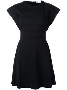 платье с кружевными деталями Red Valentino