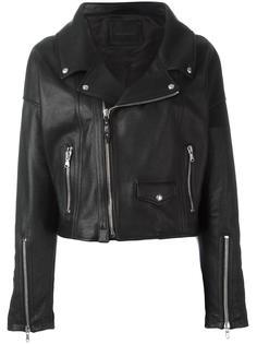 'Le Figaro' biker jacket Diesel Black Gold