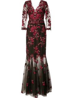 floral lace gown Marchesa Notte