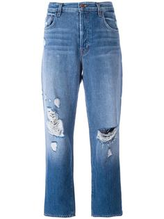 'Ivy' cropped jeans J Brand