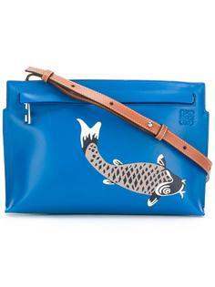 сумка через плечо с принтом рыбы Loewe