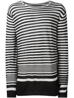 свитер в полоску  Haider Ackermann
