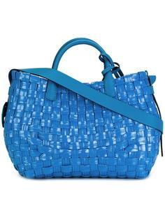 сумка-тоут с плетеным дизайном Ermanno Scervino