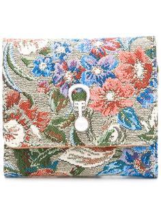 кошелек с цветочным принтом Ermanno Scervino
