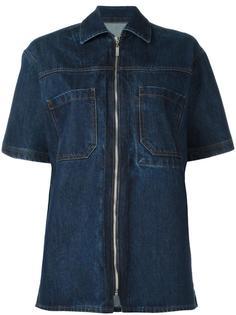 джинсовая рубашка на молнии Each X Other