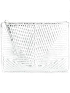 quilted star clutch Golden Goose Deluxe Brand