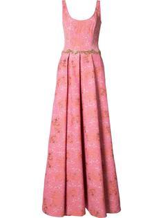 floral jacquard gown Marchesa Notte