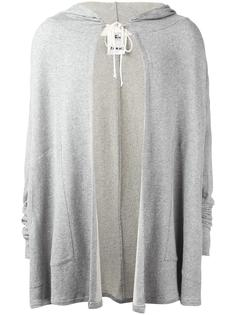 midi open hoodie Lost & Found Rooms