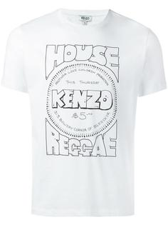 футболка 'House of Reggae' Kenzo