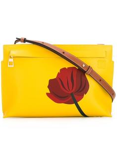 сумка через плечо с принтом мака Loewe