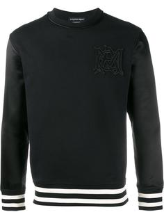 logo embroidered sweatshirt Alexander McQueen