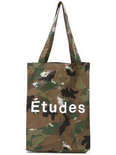 camouflage tote Études