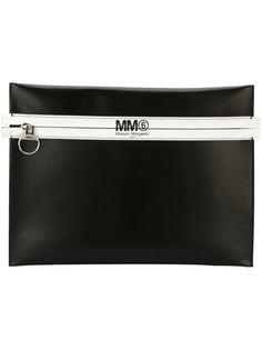 большой клатч на молнии Mm6 Maison Margiela