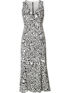 floral print shift dress Narciso Rodriguez