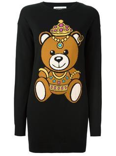 платье с медведем Moschino