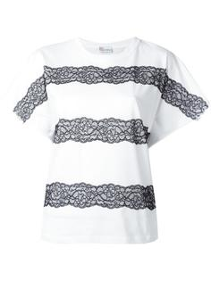 lace-up detailing T-shirt Red Valentino