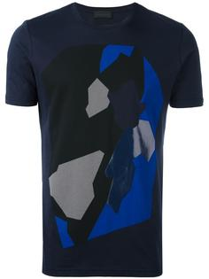 abstract print T-shirt Diesel Black Gold