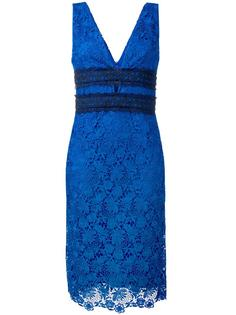 floral lace midi dress Diane Von Furstenberg