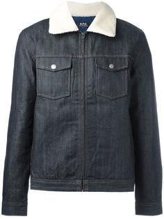джинсовая куртка 'Bass' A.P.C.