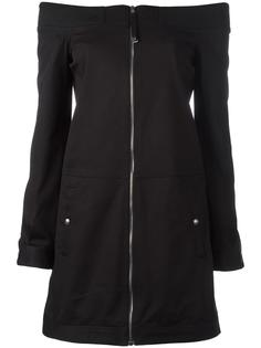 zip up fitted dress Diesel Black Gold