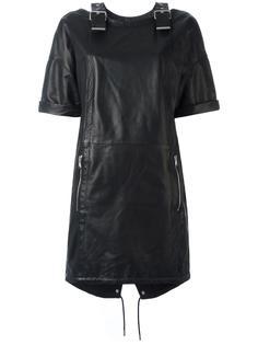 stylised buckles dress  Diesel Black Gold