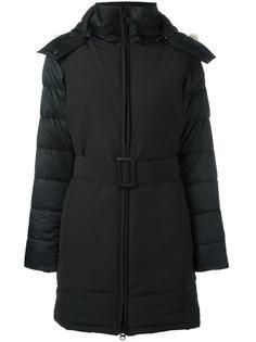 пальто-пуховик с поясом Canada Goose