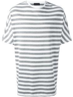 striped boxy T-shirt Diesel Black Gold