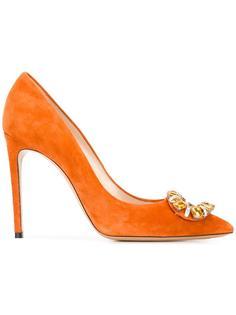 embellished stiletto pumps Casadei