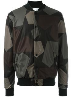 куртка-бомбер с камуфляжным принтом Ports 1961