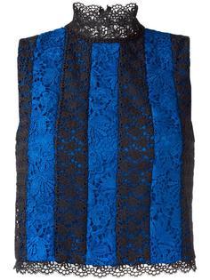 cropped floral lace top Diane Von Furstenberg