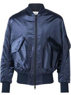 атласная куртка-бомбер Cmmn Swdn