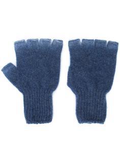 'Heavy Spray' fingerless gloves The Elder Statesman