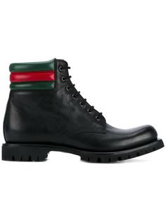ботинки в стиле милитари  Gucci