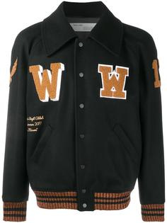 patch detail varsity jacket Off-White