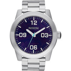 Кварцевые часы Nixon Corporal Ss Purple